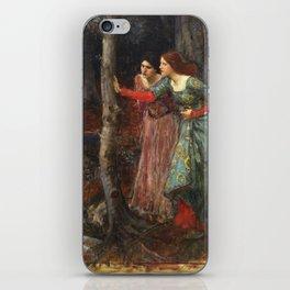 John William Waterhouse - The mystic wood iPhone Skin