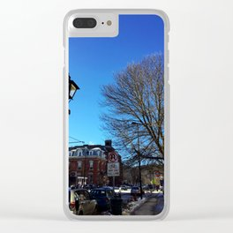 Winter in Montpelier Clear iPhone Case