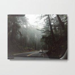 ROAD TRIP III / California Metal Print