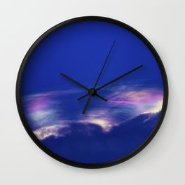 Fire Rainbow Wall Clock