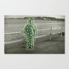 Green Holidays Canvas Print