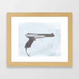 Zapper Framed Art Print