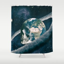 The Old Traveller Shower Curtain