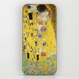 The Kiss - Gustav Klimt, 1907 iPhone Skin