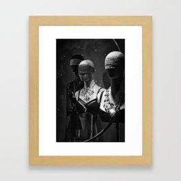 Don't Undress Framed Art Print