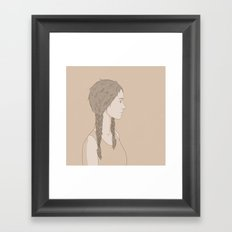 NATURE PORTRAITS 04 SIMPLIFIED Framed Art Print