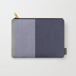 A lovely combo of Jacarta, Bone, Grey and Gray-Blue vertical stripes. Carry-All Pouch