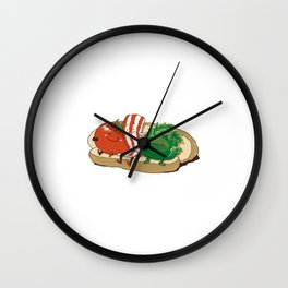BLT Together Forever Wall Clock