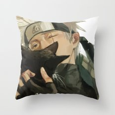 Kakashi & Cat Throw Pillow