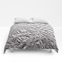 Silver Paper Comforters