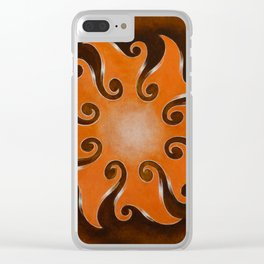Points Of Infinity Clear iPhone Case