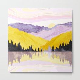 Spring Lake Metal Print
