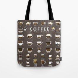 Coffee Chart Tote Bag