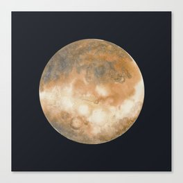 Watercolor Venus Canvas Print