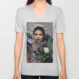 One Tequila, Two Tequila, Three Tequila, Flaura Unisex V-Neck