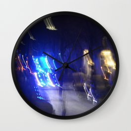 no plan Wall Clock