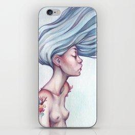 coral dream iPhone Skin