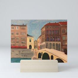 The Latin Bridge in Sarajevo, Bosnia Mini Art Print