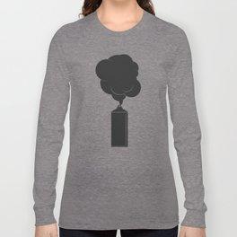 Art Supplies Grey Long Sleeve T-shirt