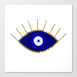I See You Evil Eye Canvas Print