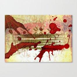 Halloween Abstract Canvas Print