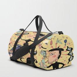 1950's Beatnik Style Duffle Bag