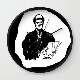 Barrister for the Defence            by Kay Lipton Wall Clock