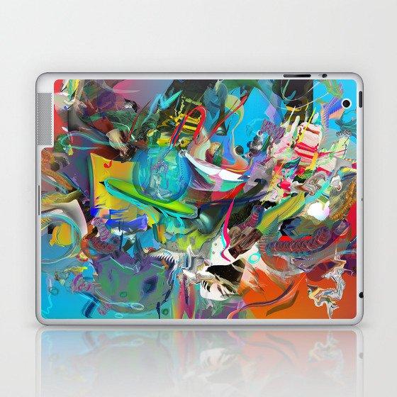 Microcrystalline Tendrils Laptop & iPad Skin