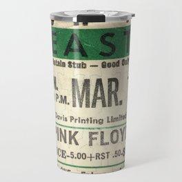 Concert Ticket Stub - Floyd Travel Mug