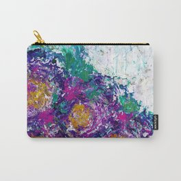 Abstract Floral - Botanical Carry-All Pouch