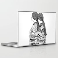 twins Laptop & iPad Skins featuring Twins by La Thai