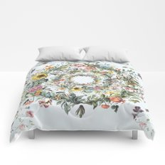 Circle of Life Blue Comforters