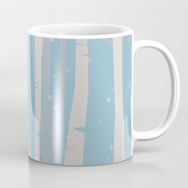 winter birch Coffee Mug