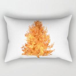pear tree fire Rectangular Pillow