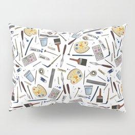Painter's Supplies - Clear Pillow Sham