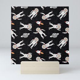 Rocket Sloth Mini Art Print