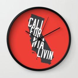 California Livin' by Reformation Designs Wall Clock