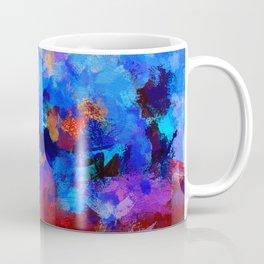 Abstract Seascape Painting Coffee Mug