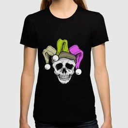 Mardi Grass Skull Carneval Shrove Tuesday T-shirt
