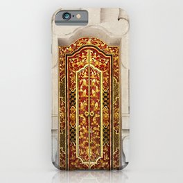 A Bali Door iPhone Case