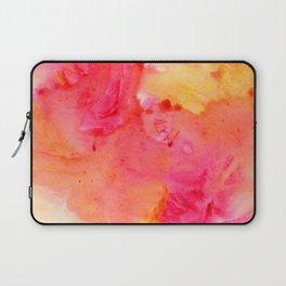 Peach flow Laptop Sleeve