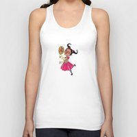 fancy Tank Tops featuring Fancy by sheena hisiro