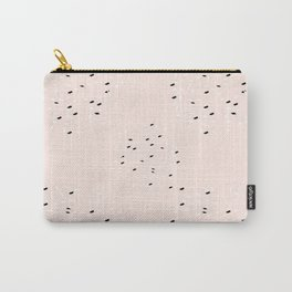 Milky terrazzo Carry-All Pouch