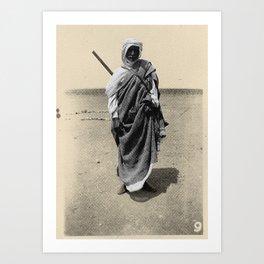 Service in Egypt Art Print
