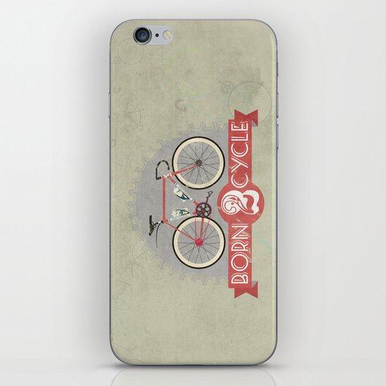 Born To Cycle iPhone & iPod Skin