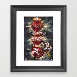 Most Sacred Hearts Framed Art Print