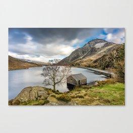 Lake Ogwen Snowdonia Canvas Print