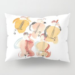 All About that Double Bass Section Pillow Sham