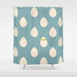 Eggos Shower Curtain