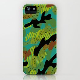 Camouflage 2 iPhone Case
